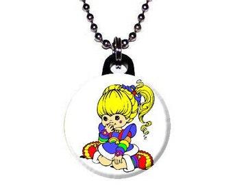 Cute Rainbow Brite Necklace