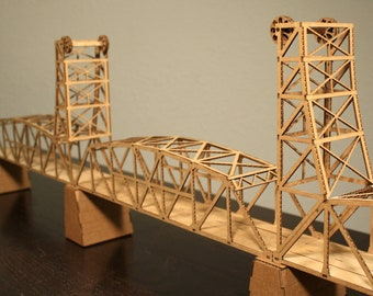 Lift bridge in a boX - as see in The Pioneer Press article Bridge to Everwhere.