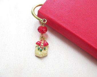 Christmas bookmark Party favors Christmas gift Bookmark