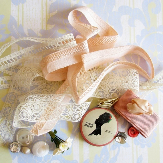 Girly Sweet Treats...Lovely Old Trims, Lace, & Adornments
