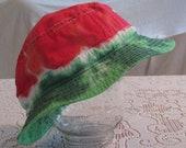 Watermelon Tie Dye Adult Bucket Hat