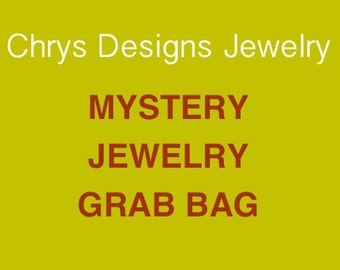 Mystery Jewelry Grab Bag, Jewellery grab bag, Lucky Dip, lucky Surprise, Mystery Surprise Jewelry, Lucky Dip Necklaces, Lucky Dip earrings