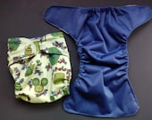 Small Cloth Diaper Cover 8 - 19lbs medium IN STOCK - Vineyard Grapes