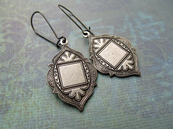 Moroccan earrings Ethnic dangle earrings Boho Bohemian earrings Bohemian Jewelry