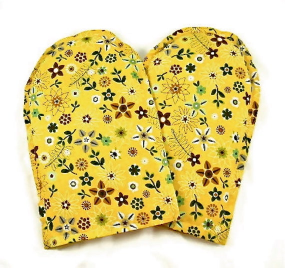 Hand Therapy Mitts Moist Heat Therapy Microwavable Organic Flaxseed Lavender Rice Holidays Gift Idea