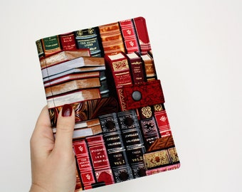 Kindle Cover Book Print Hardcover for Kindle Paperwhite kindle 4 case