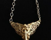 Custom Pendant for Orysa Clockwork Angel Pendant