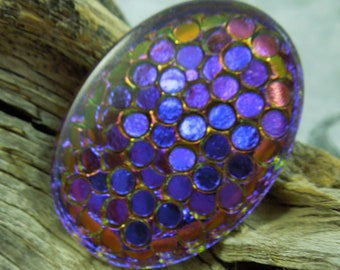 30mmx40mm Dragon Scale Foiled Stone