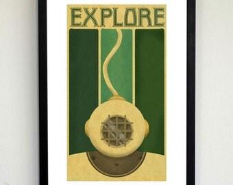 Explore Deco poster