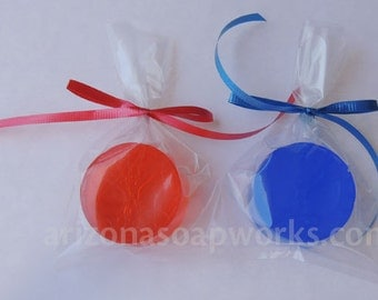 50 Spiderman Soaps - Party Favor - Birthday - Indivdually Wrapped