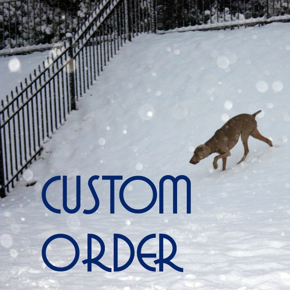 Custom order for melisawagnon