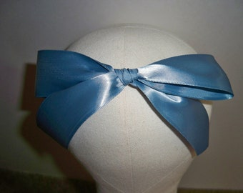 Disney's Wendy Darling Clip on Hair Bow & 72 ins tie Sash