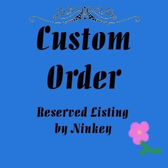 Custom  Order for Tara NOT FOR SALE Adult Size Wendy Darling Nightgown