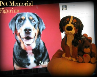 Large Pet Memorial figurine