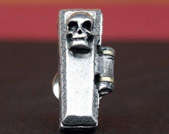 Tie Tack - Coffin