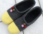 PDF Pattern - Crochet Cozy Slippers