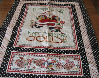 Isn't Christmas Jolly? Quilted Wall Hanging