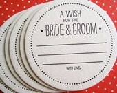 Custom Listing - a wish for the bride & groom (set of 40)