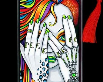 Synthea Psytrance Tattoo Cyber Fairy BOOKMARK