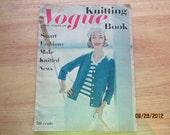 Vogue Knitting Spring Summer 1958