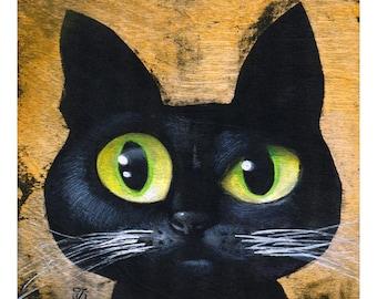 Chantel (Fine Art Print not a real Cat)