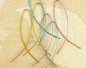 Slip Ons Niobium Earrings - Hypo Allergenic