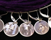 Stitchmarkers for KNITTERS or CROCHETERS, Llama Llovers