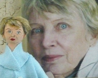 Lois Lowry Doll Miniature Author Art Collectible