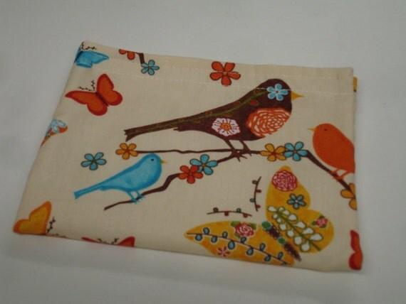 Fancy Free Birds Reusable Snack Bag