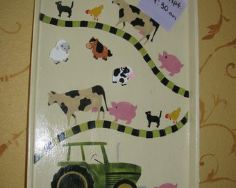 Magnetic Tractor Bulletin Board