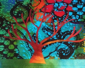 COMPLETE SET OF 6 Notecards, Tree of Life Series