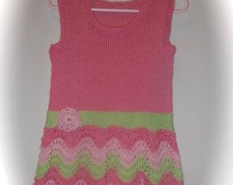PDF SUMMER BREEZE Lacy Toddler Dress