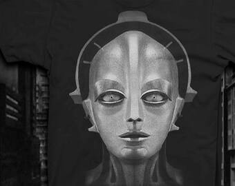 Metropolis T-shirt Mens Softstyle t-shirt Maria Robot tshirt