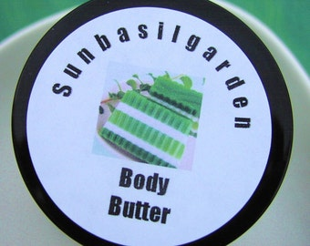 Moisturizer, Dad Gift, Husband Gift, Gift for Men, MISTLETOE Body Butter, Small Jar, Pine and Ivy, Father Gift, Christmas Body Butter Lotion