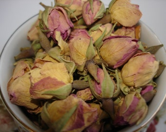 Pink Rose Buds Dried 1oz.