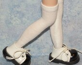 Tall White Socks For Blythe...One Pair Per Listing...