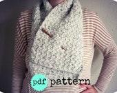 PDF Crochet Pattern Snow Day Scarf