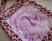 Purple Cheetah Purse