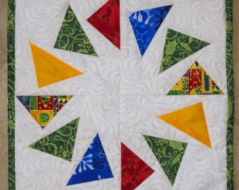 CHRISTMAS GEESE Mini Quilt from Quilts by Elena