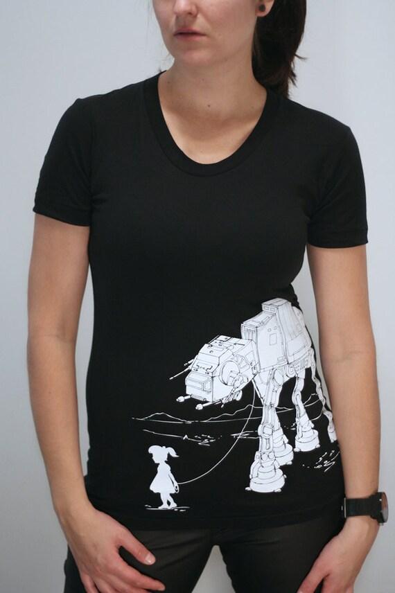 My Star Wars AT-AT Pet - American Apparel Womens T-Shirt ( Star Wars