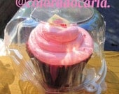 Single CUPCAKE Muffin BakeryTwenty container favor box 20 party supplies