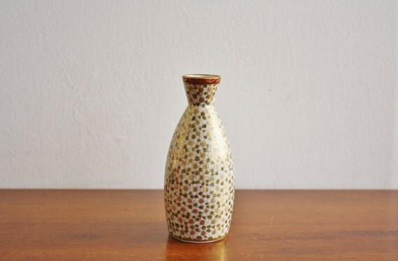 Vintage handpainted Japanese vase