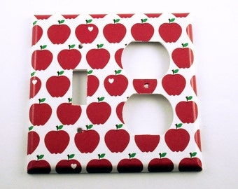 Light Switch Cover Wall Decor Combo Switch Plate in Delicious (091C)