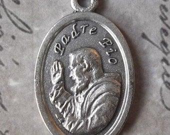 Padre Pio Of Pietrelcina, Pray For Us Italian Holy Medal Stigmata Patron Saint Of The Unborn