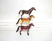 Vintage Horse Trio