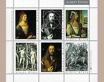 Artists' Artistamps - Albert Dürer