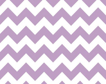 Riley Blake Designs, Medium Chevron in Lavender (C320 120)