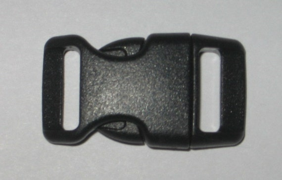 """100 count 5/8"""" side release buckles for paracord braclets black"""