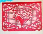 BOUQUET Papel Picado Banner. custom color garland