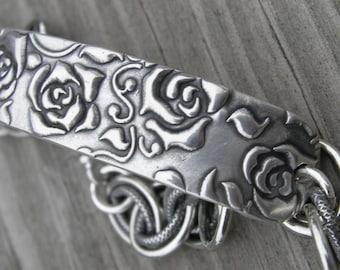 Rosevine Secret ID Bracelet Personalized Made To Order Sterling